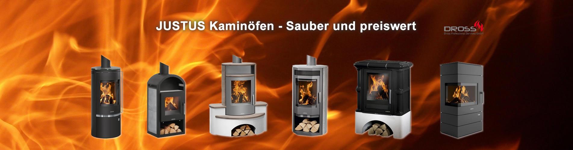 JUSTUS Kaminöfen - Sauber und preiswert