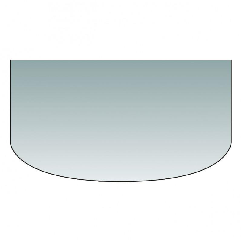 Glas-Vorlegeplatte Rundbogen