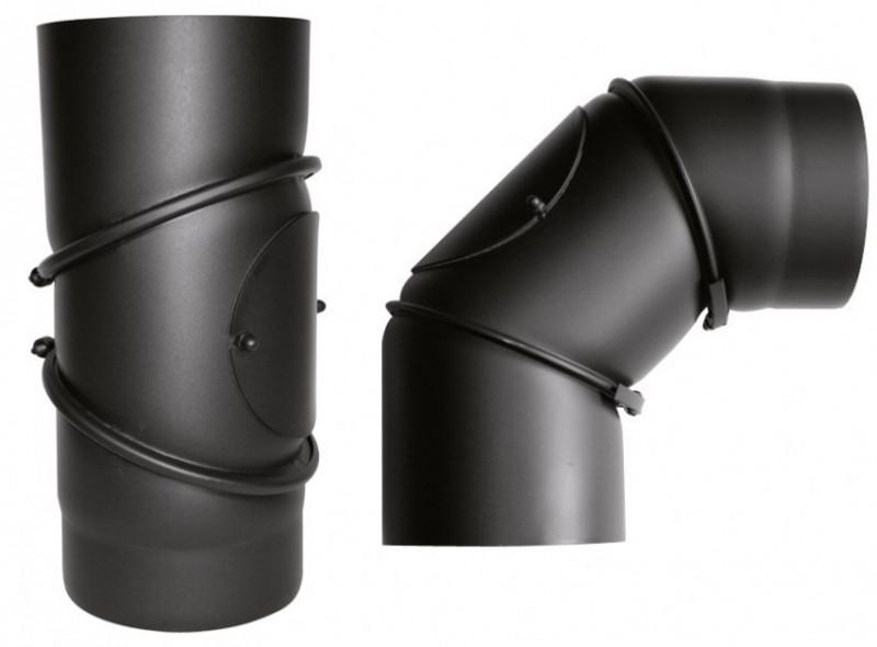 Rohrbogen 150 mm - 0°-90° verstellbar