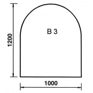 Bodenplatte Rundbogen B3